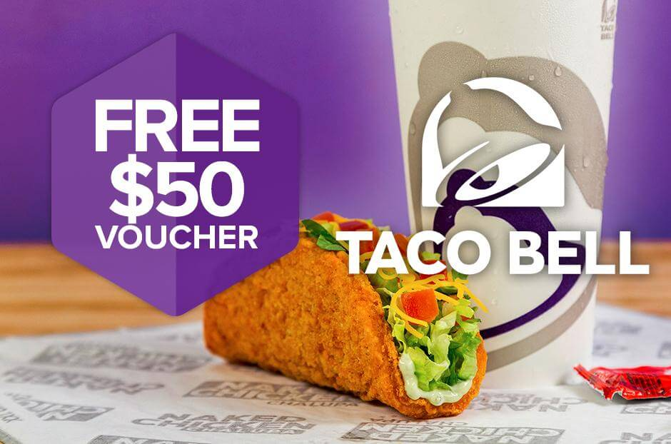 Win a $50 Taco Bell gift card