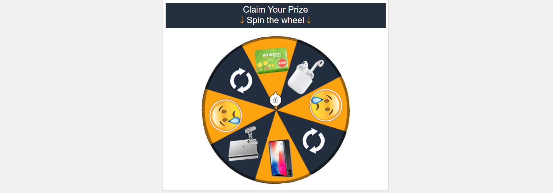Spin The Win Wheel